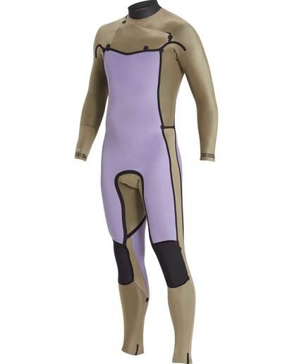 9 4/3 Furnace Revolution Chest Zip Wetsuit Gris L44M06BIF8 Billabong