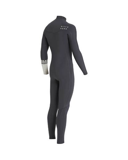 3 4/3 Furnace Revolution Chest Zip Wetsuit Gris L44M06BIF8 Billabong