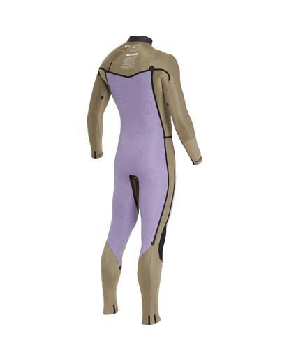 7 4/3 Furnace Revolution Chest Zip Wetsuit Gris L44M06BIF8 Billabong