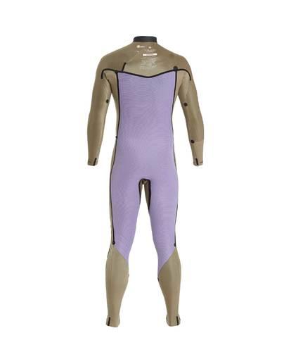 8 4/3 Furnace Revolution Chest Zip Wetsuit Gris L44M06BIF8 Billabong
