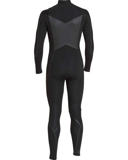 6 4/3 Furnace Absolute X Chest Zip Fullsuit Wetsuit Noir L44M07BIF8 Billabong