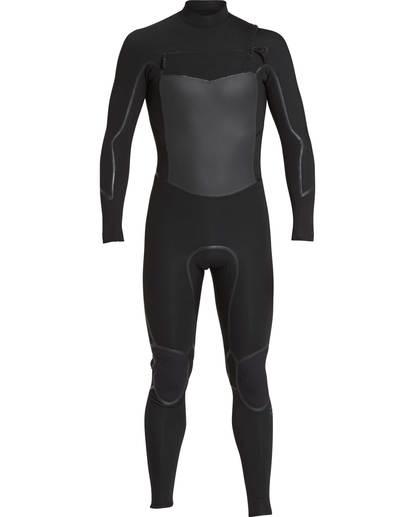0 4/3 Furnace Absolute X Chest Zip Fullsuit Wetsuit Schwarz L44M07BIF8 Billabong