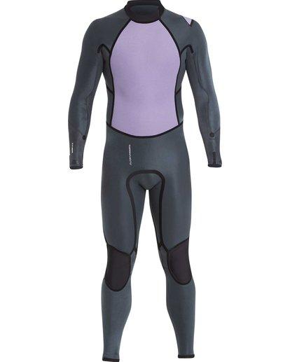 5 4/3 Furnace Absolute X Chest Zip Fullsuit Wetsuit Noir L44M07BIF8 Billabong