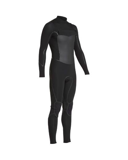 1 4/3 Furnace Absolute X Chest Zip Fullsuit Wetsuit Noir L44M07BIF8 Billabong