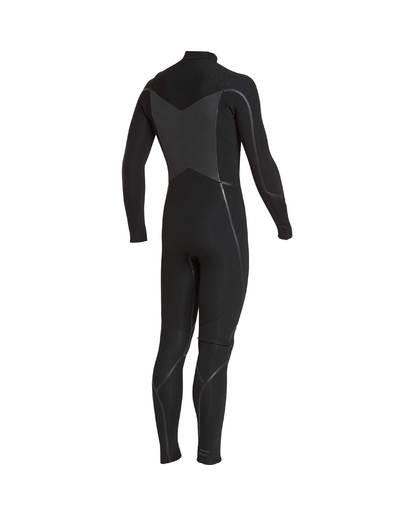 2 4/3 Furnace Absolute X Chest Zip Fullsuit Wetsuit Noir L44M07BIF8 Billabong