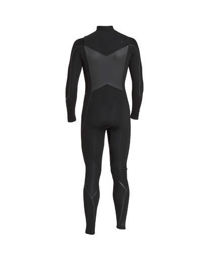 3 4/3 Furnace Absolute X Chest Zip Fullsuit Wetsuit Noir L44M07BIF8 Billabong