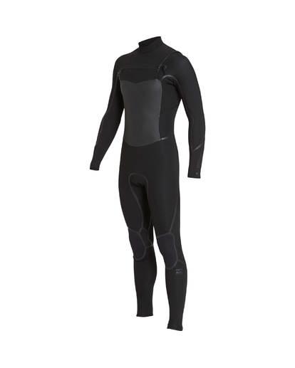 4 4/3 Furnace Absolute X Chest Zip Fullsuit Wetsuit Noir L44M07BIF8 Billabong