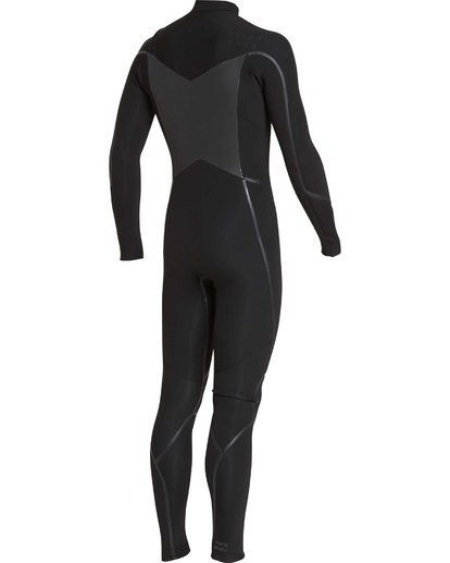 9 4/3 Furnace Absolute X Chest Zip Fullsuit Wetsuit Schwarz L44M07BIF8 Billabong