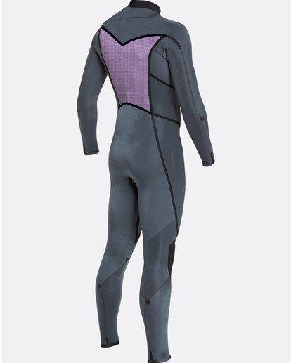 11 4/3 Furnace Absolute X Chest Zip Fullsuit Wetsuit Noir L44M07BIF8 Billabong