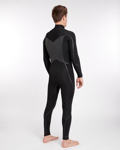 14 4/3 Furnace Absolute X Chest Zip Fullsuit Wetsuit Noir L44M07BIF8 Billabong