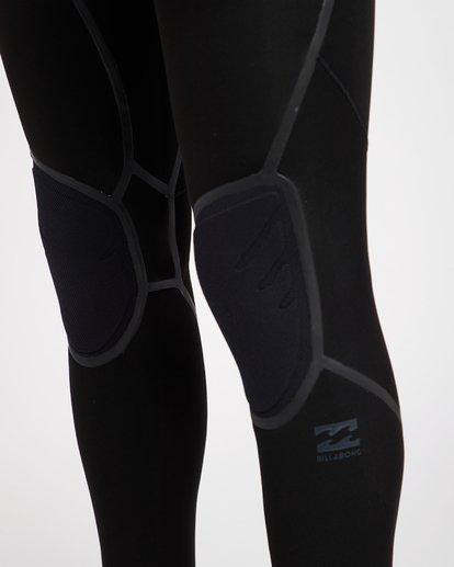 18 4/3 Furnace Absolute X Chest Zip Fullsuit Wetsuit Noir L44M07BIF8 Billabong