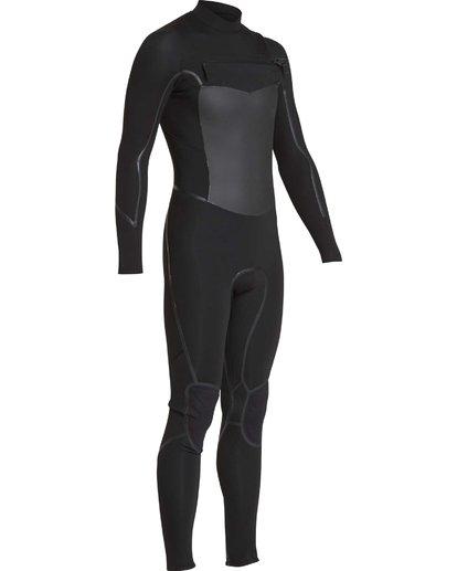 23 4/3 Furnace Absolute X Chest Zip Fullsuit Wetsuit Noir L44M07BIF8 Billabong