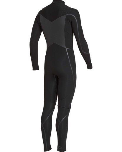 24 4/3 Furnace Absolute X Chest Zip Fullsuit Wetsuit Noir L44M07BIF8 Billabong