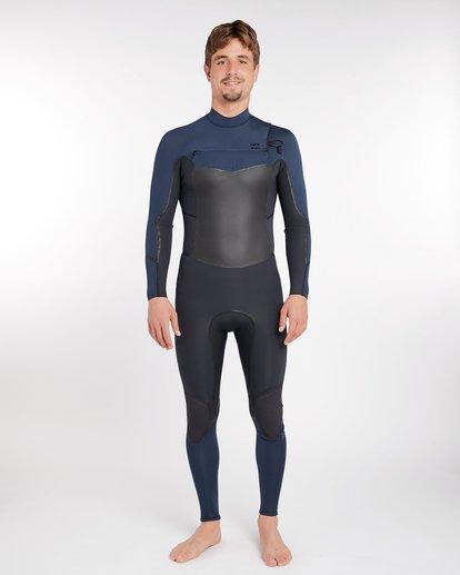 1 4/3 Furnace Absolute X Chest Zip Fullsuit Wetsuit Grau L44M07BIF8 Billabong