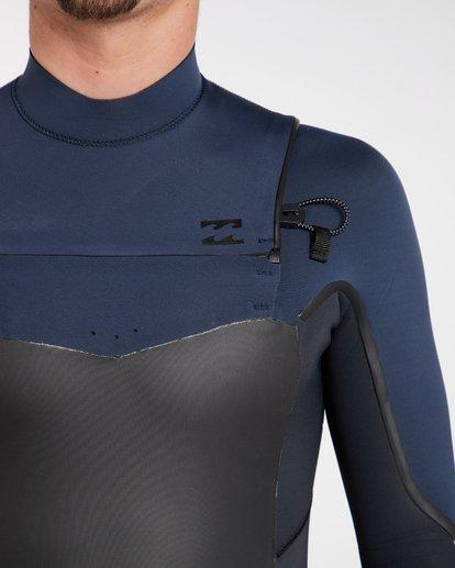 4 4/3 Furnace Absolute X Chest Zip Fullsuit Wetsuit Grau L44M07BIF8 Billabong