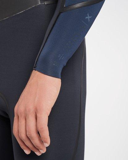 6 4/3 Furnace Absolute X Chest Zip Fullsuit Wetsuit Grau L44M07BIF8 Billabong