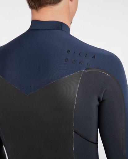 8 4/3 Furnace Absolute X Chest Zip Fullsuit Wetsuit Grau L44M07BIF8 Billabong