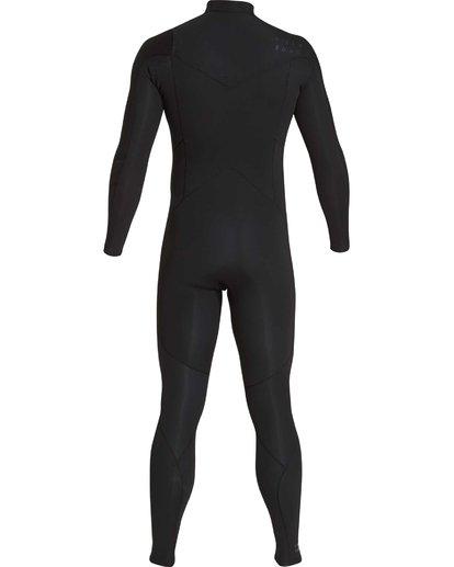 15 4/3 Furnace Absolute Chest Zip Gbs Fullsuit Wetsuit Noir L44M09BIF8 Billabong