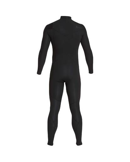 7 4/3 Furnace Absolute Chest Zip Gbs Fullsuit Wetsuit Noir L44M09BIF8 Billabong