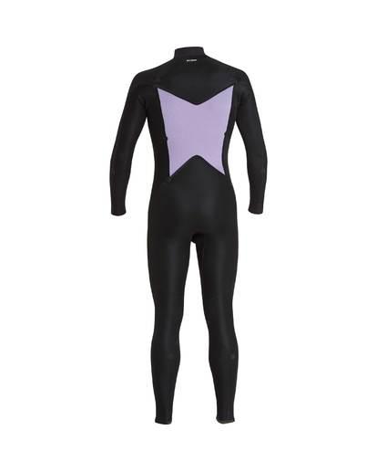 13 4/3 Furnace Absolute Chest Zip Gbs Fullsuit Wetsuit Noir L44M09BIF8 Billabong