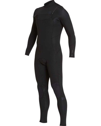 16 4/3 Furnace Absolute Chest Zip Gbs Fullsuit Wetsuit Noir L44M09BIF8 Billabong