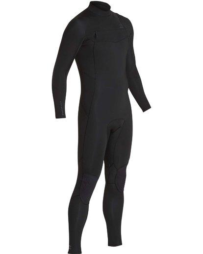 17 4/3 Furnace Absolute Chest Zip Gbs Fullsuit Wetsuit Noir L44M09BIF8 Billabong