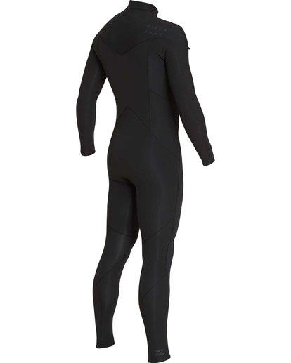 18 4/3 Furnace Absolute Chest Zip Gbs Fullsuit Wetsuit Noir L44M09BIF8 Billabong