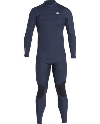 9 4/3 Furnace Absolute Chest Zip Gbs Fullsuit Wetsuit Grau L44M09BIF8 Billabong