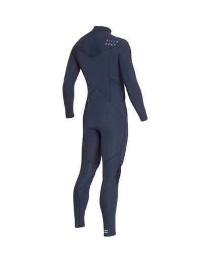 12 4/3 Furnace Absolute Chest Zip Gbs Fullsuit Wetsuit Grau L44M09BIF8 Billabong