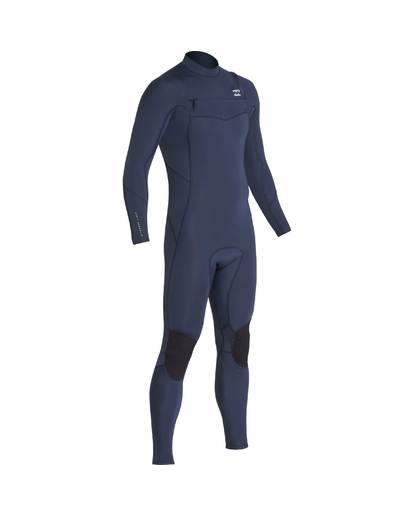 13 4/3 Furnace Absolute Chest Zip Gbs Fullsuit Wetsuit Grau L44M09BIF8 Billabong