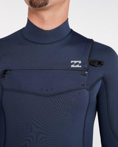 4 4/3 Furnace Absolute Chest Zip Gbs Fullsuit Wetsuit Grau L44M09BIF8 Billabong