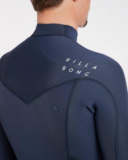 7 4/3 Furnace Absolute Chest Zip Gbs Fullsuit Wetsuit Grau L44M09BIF8 Billabong