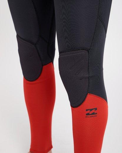 6 4/3 Furnace Absolute Chest Zip Gbs Fullsuit Wetsuit Rot L44M09BIF8 Billabong