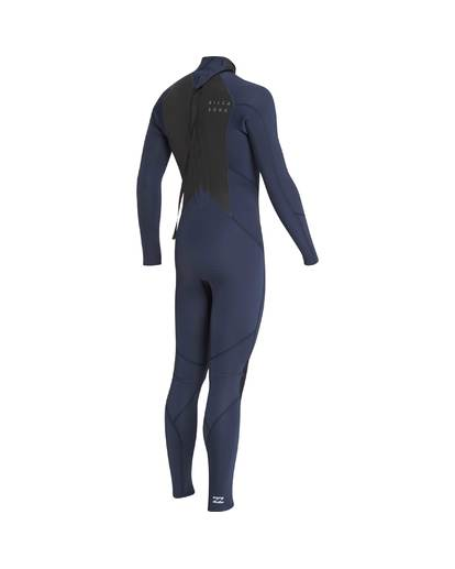 4 4/3 Furnace Absolute Back Zip Gbs Fullsuit Wetsuit Grau L44M10BIF8 Billabong