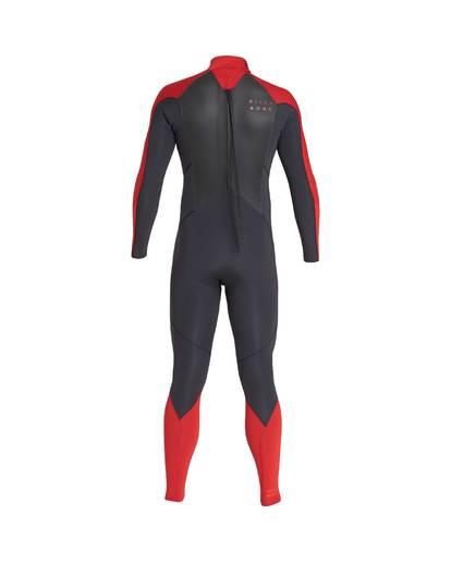 2 4/3 Furnace Absolute Back Zip Gbs Fullsuit Wetsuit Rot L44M10BIF8 Billabong