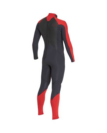 3 4/3 Furnace Absolute Back Zip Gbs Fullsuit Wetsuit Rot L44M10BIF8 Billabong