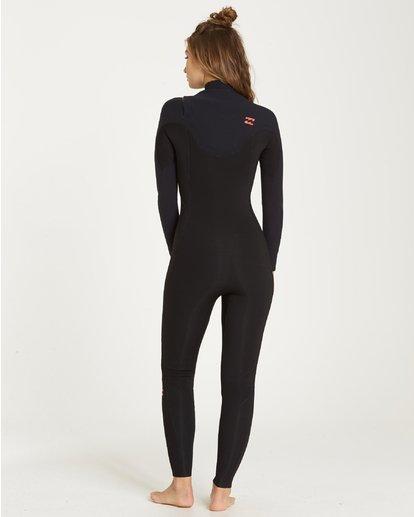 1 5/4 Furnace Carbon Chest Zip Gbs Fullsuit Wetsuit Black L45G02BIF8 Billabong