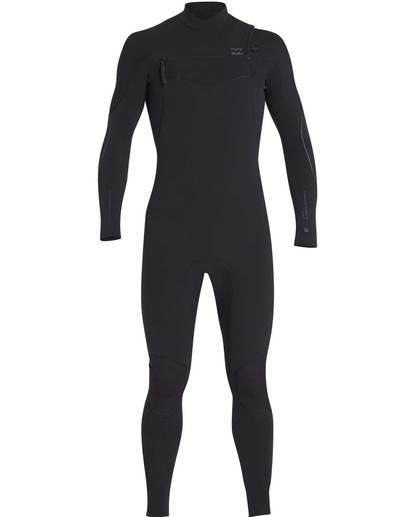 0 5/4 Furnace Carbon Chest Zip Gbs Fullsuit Wetsuit Negro L45M03BIF8 Billabong