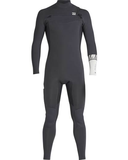 1 5/4 Furnace Revolution Chest Zip Wetsuit Grau L45M06BIF8 Billabong