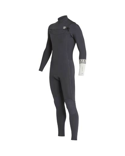 2 5/4 Furnace Revolution Chest Zip Wetsuit Grau L45M06BIF8 Billabong