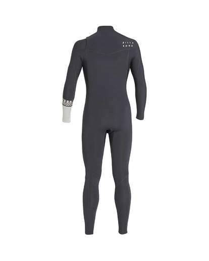 3 5/4 Furnace Revolution Chest Zip Wetsuit Grau L45M06BIF8 Billabong