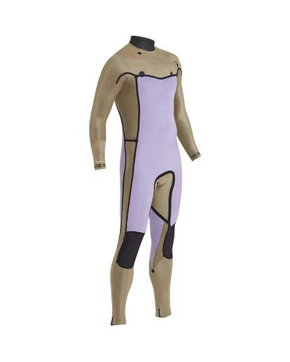 7 5/4 Furnace Revolution Chest Zip Wetsuit Grau L45M06BIF8 Billabong