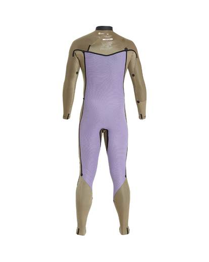 9 5/4 Furnace Revolution Chest Zip Wetsuit Grau L45M06BIF8 Billabong