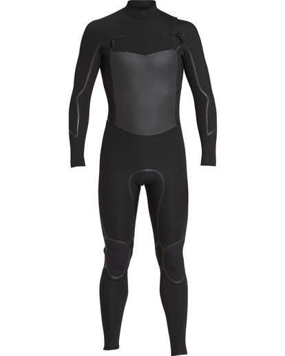 0 5/4 Furnace Absolute X Chest Zip Fullsuit Wetsuit Schwarz L45M07BIF8 Billabong