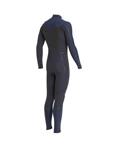 3 5/4 Furnace Absolute X Chest Zip Fullsuit Wetsuit Grau L45M07BIF8 Billabong