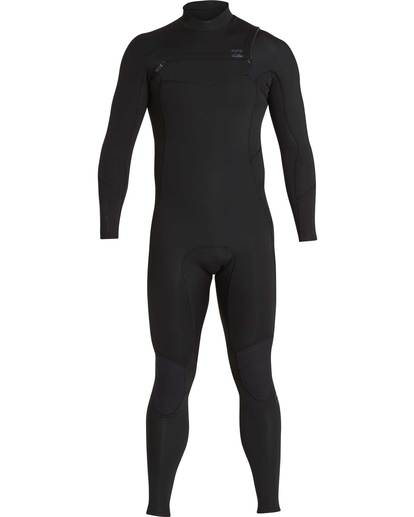 0 5/4 Furnace Absolute Chest Zip Gbs Fullsuit Wetsuit Noir L45M09BIF8 Billabong