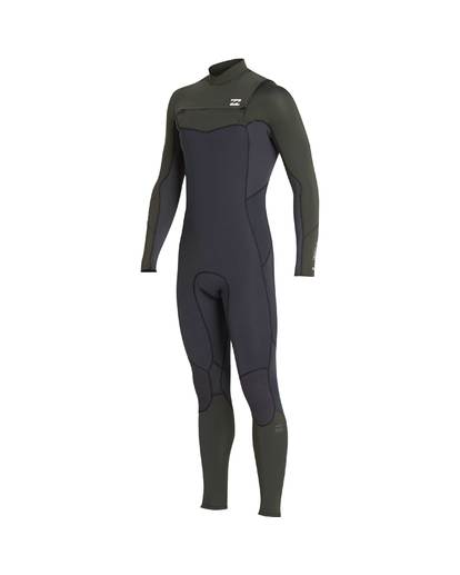 4 5/4 Furnace Absolute Chest Zip Gbs Fullsuit Wetsuit Grün L45M09BIF8 Billabong