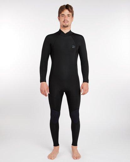 15 5/4 Furnace Absolute Back Zip Gbs Fullsuit Wetsuit Schwarz L45M10BIF8 Billabong
