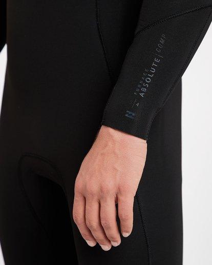 20 5/4 Furnace Absolute Back Zip Gbs Fullsuit Wetsuit Schwarz L45M10BIF8 Billabong