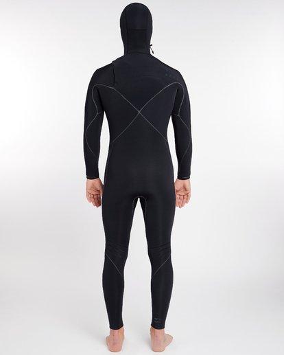 12 5/4 Furnace Carbon Ultra Hooded Fullsuit Wetsuit Noir L45M20BIF8 Billabong